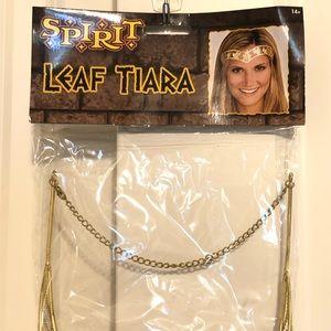 Gold Leaf Tiara Cleopatra Halloween Costume Greek